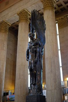Philadelphia 30th Street Train Station - Angel of the Resurrection by Walter Hancock by cerdsp, via Flickr