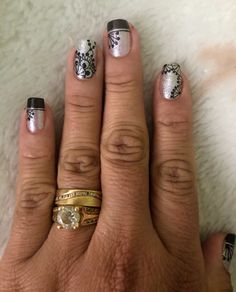 Class Ring, Beauty, Designed Nails, Arabesque, Work Nails, Leopard Nails, Black Nails, Nail Designs, Mandalas