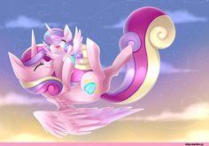 mlp art,my little pony,Мой маленький пони,фэндомы,Princess Cadence,принцесса Кейденс,royal,Flurry Heart
