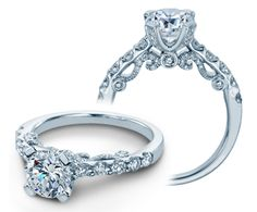 INSIGNIA-7001RD engagement ring from The Insignia Collection of diamond engagement rings by Verragio