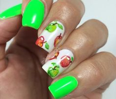 NEON GREEN AND APPLES