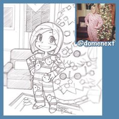 "Robert DeJesus - Google+ :""My latest sketch for Do Me Next on Instagram. More of my art at: http://instagram.com/domenext"""