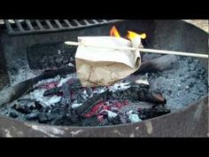Cook Bacon & Eggs In A Paper Bag! - YouTube (www.ChefBrandy.com)