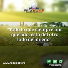No tengas miedo a fracasar siempre intentalo.  #fedogolfRd #golf #instagolf #swing #grass #green #field #putter #hoyo #RD #DominicanRepublic #sport #deporte #Backspin #bola #bola #fairway #draw #driver #finish #victory #win #hard #fight