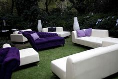 Lounge furniture outdoors makes a great area for everyone to feel like a VIP.