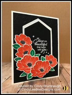 Cindy Lee Bee Designs | Cindy Brumbaugh, Independent Stampin Up Demonstrator