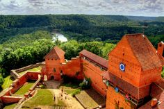 In 1214 Turaida Castle was a wooden castle, after reconstructed to stone castle. The castle now represents a museum exhibition related to the historical events of the surrounding area. Turaida castle is the most visited one outside Riga walls.