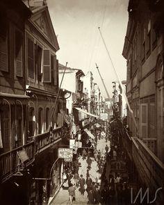 Rua do Ouvidor. c. 1890. Rio de Janeiro