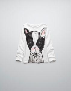 DOG PRINT T-SHIRT - T-shirts - Girl (2-14 years) - Kids - ZARA United States