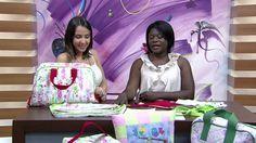 Mulher.com - 15/10/2015 - Bolsa de mão para viagem - Jacqueline Freitas PT1