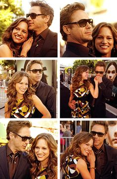 Robert and Susan Downey - one of Hollywood's real OTPs.