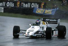 Keke Rosberg (Europe 1983) : Drifting before it was