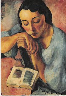 Retrato de Matilde. Sarah Afonso (1899- 1983)´Portugal