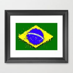 in to the sky, Brazil Framed Art Print by seb mcnulty - $32.00