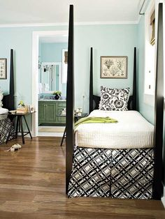 Southern Living Guest Bedroom