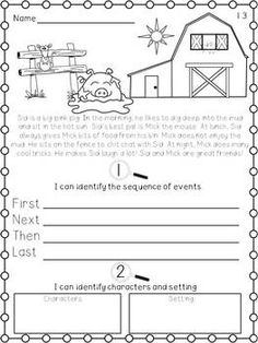 CLOSE READING: FOR LITTLE LEARNERS - TeachersPayTeachers.com