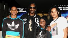 These famous dads (like Snoop Dogg) were rough around these edges before their little ones came into the picture and gave them a new perspective on life. #celebrityparenting #parenting #whattoexpect | whattoexpect.com