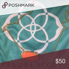 Kendra Scott Kendra Scott - Large Orange Necklace Kendra Scott Jewelry