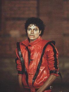 le blouson rouge de Michael Jackson  dans thriller