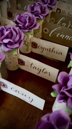 Explore unique Wedding Place Card Holder ideas by Kara's Vineyard Wedding. Wine Cork Wedding, Wedding Favours, Rustic Wedding, Homemade Wedding Gifts, Homemade Anniversary Gifts, Anniversary Ideas, Wedding Anniversary, Card Table Wedding, Wedding Place Cards
