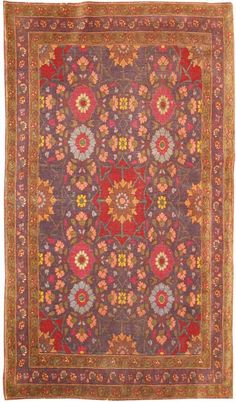 Antique Carpet, Persian Tabriz #42386 from the Nazmiyal Collection  http://nazmiyalantiquerugs.com/antique-rugs/tabriz-rugs-antique/
