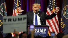 Vorwahlen in fünf Bundesstaaten: Trump droht in Kansas Niederlage
