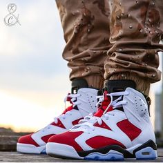Illest Sneakers | Carmine 6's are some of our best sellers at... Sneakers Box, Sneakers Nike, Nike Fashion, Sneakers Fashion, Jordans For Men, Air Jordans, Jordan Shoes Wallpaper, Popular Sneakers, Sneaker Games