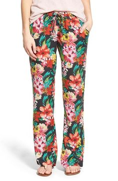 Rip Curl 'Paradiso' Floral Print Pants available at #Nordstrom