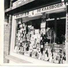 Kaaswinkel Waaijer Vlierboomstraat 1965