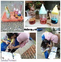 Sahabat Montessori Sarana Anak Hebat Cotton Candy, Montessori, Food, Meals, Yemek, Eten