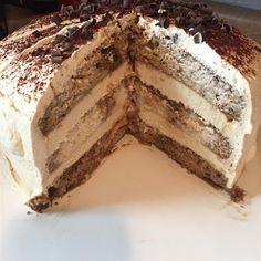 "Tiramisu Layer Cake I ""AMAZING! Make this and you will look like a pro!"""