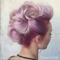 Wild Orchid roots with pastel purple and pink