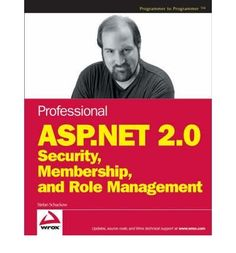 Introducing Professional ASPNET 20 Security Membership and Role Management WROX Professional Guides Paperback  Common. Buy Your Books Here and follow us for more updates!