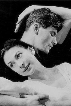 Margot Fonteyn and Michael Somes rehearsing Ondine © ROH/Roger Wood, 1958