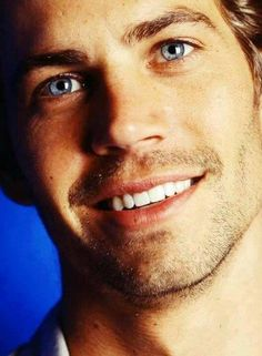 Paul Walker-Such a beautiful man.