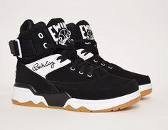 #Ewing 33 Hi Nubuck Oreo #sneakers