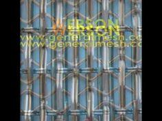 generalmesh Architectural Woven Wire Mesh,architectural mesh wall claddi...