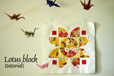 Lotus block tutorial