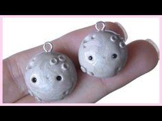 Kawaii Moon Planet polymer clay charm tutorial