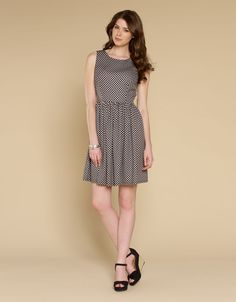 Penelope Checked Dress