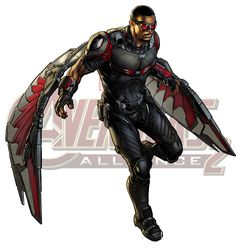 Falcon transparent marvel hero from Berserk on. 15 Falcon transparent marvel hero professional designs for business and education. Clip art is a great way to help illustrate your diagrams and flowcharts. Marvel Avengers Alliance, Hq Marvel, Marvel Comics Art, Marvel Heroes, Marvel Characters, Avengers Art, Stan Lee, Mundo Superman, Mundo Marvel