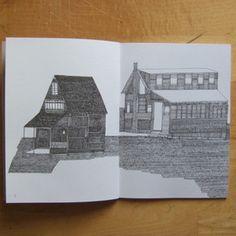 Nigel Peake line drawing