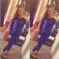 High Quality Autumn candy color 2 piece set women Sport Tracksuits Two Piece hoodies and pants Sport Suit Women
