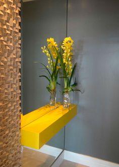 Decoração de hall de entrada de apartamento pequeno | Decoração e Projetos