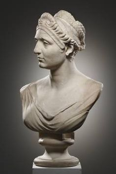 Portrait Bust of a Lady Height: 60 cm. Width: 39.5 cm. Marble.Roman, 1st half of 2nd cent. CE.