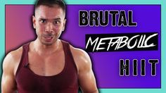 10 Minute HIIT Metabolism Booster - Brutal Total Body Workout, Metabolic...