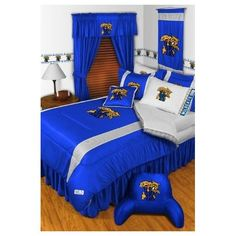 University of Kentucky Bedding  Matthew's Dream Room during Basketball Season