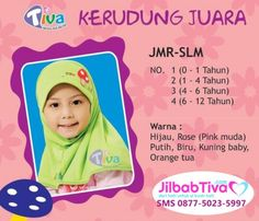 Jilbab anak Tiva JMR-SLM