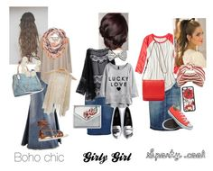 Pentecostal looks for every girl !! by abigailsmodesty on Polyvore featuring polyvore, fashion, style, American Eagle Outfitters, MANGO, Style J, Daytrip, Current/Elliott, Boohoo, Chiara Ferragni, Converse, Ancient Greek Sandals, SHOUROUK, GUESS, DANNIJO, Eugenia Kim and Dolce&Gabbana
