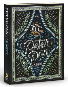 Puffin Chalk Peter Pan Book